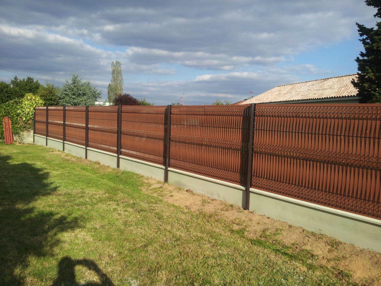 Cloture Jardin Pvc Pas Cher installation clôtures et portails | créatif jardins expert